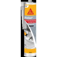Sika 西卡® 中性防霉玻璃膠 (灰色/白色/透明) ( 300 毫升 )